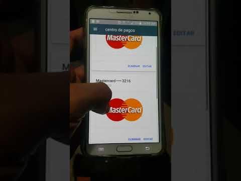 Cómo Eliminar Una Tarjeta De Crédito En Un Dispositivo Android.