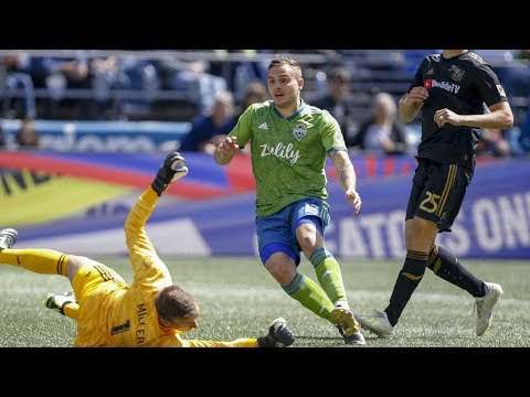 Seattle Sounders - Determined Sounders Fight to 1-1 Draw vs. LAFC
