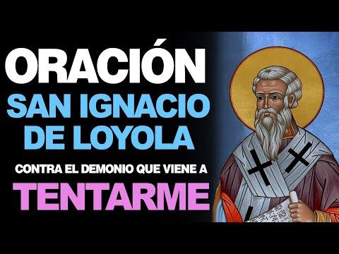 🙏 Oración a San Ignacio de Loyola CONTRA EL DEMONIO QUE ME TIENTA 🙇