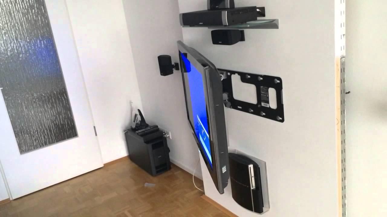 Samsung Motorisierte Wandhalterung 2 Youtube