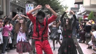 竪町ストリート(金沢市)にゾンビが出現 「スリラー・ザ・ストリート」...