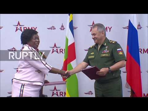 Russia: Central African Republic and Russia sign military co-operation agreement