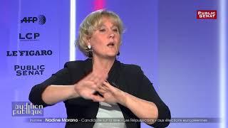 Immigration : Nadine Morano revendique une position plus radicale que Salvini
