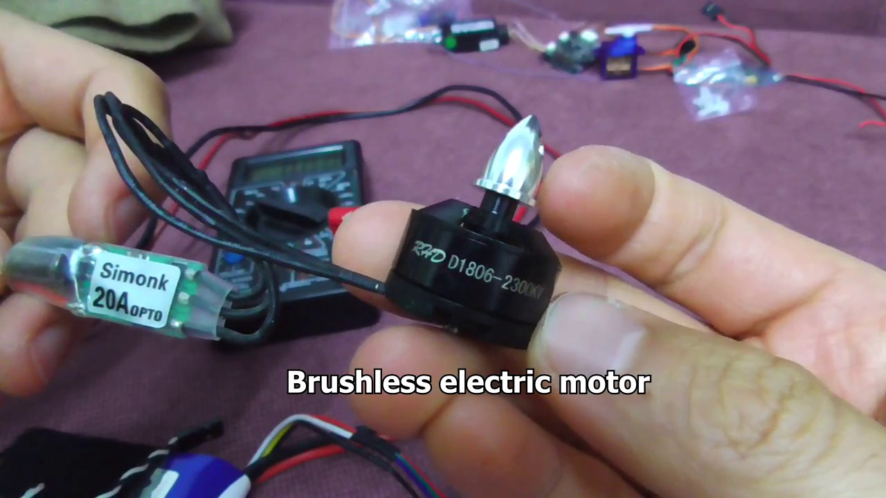 Power consumption of a Brushless Motor + ESC at 0 rpm