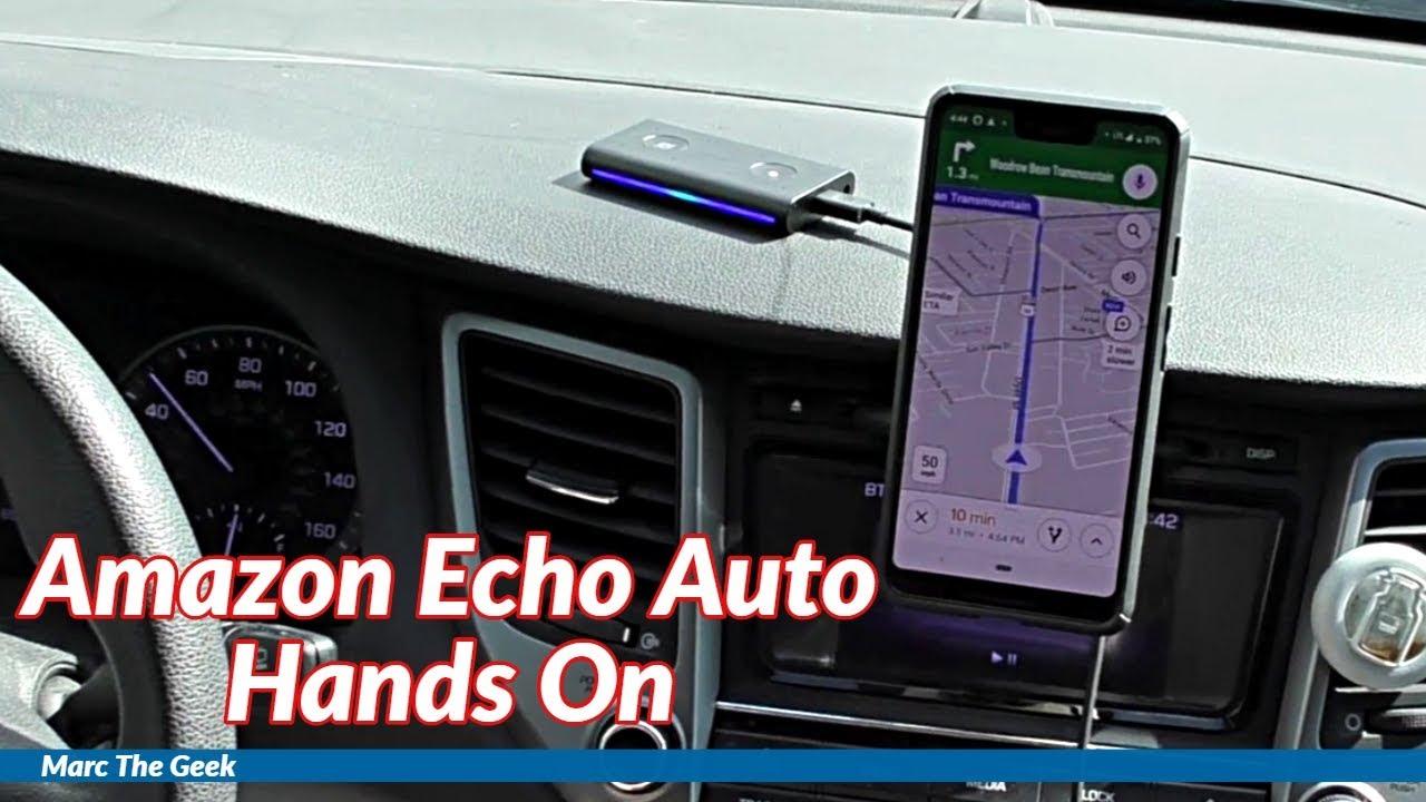 Amazon Echo Auto Hands On