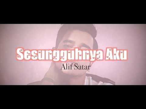 Alif Satar - Sesungguhnya Aku [OST Drama Red Velvet] (Lyric Video)