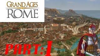 Grand Ages Rome (Poetovio) - part 1 - A new Roman game!