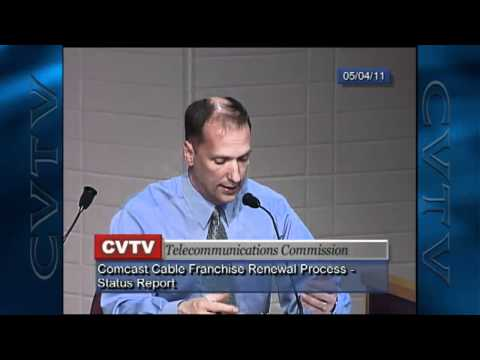 Comcast Cable franchise agreements - Clark County, WA and city of Vancouver