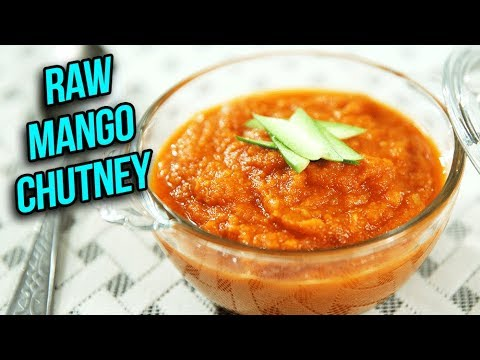 Instant Raw Mango Chutney Recipe - How To Make Sweet & Tangy Chutney At Home - Ruchi Bharani