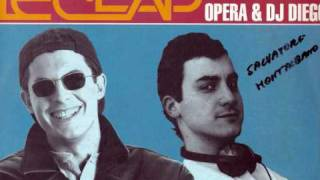 LE CLAP feat OPERA & DJ DIEGO - So in love with you 1993 (DISCOID BLUE FLOWER) ITALIAN REMIX