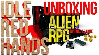 Unboxing the Alien RPG by Free League