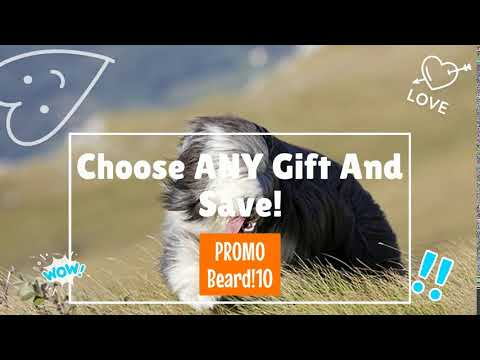 Bearded Collie Gift Selection From Pawick