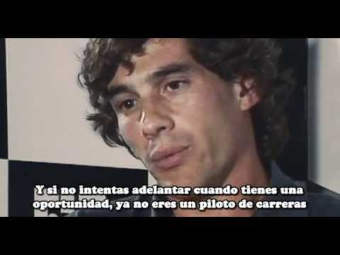 Ayrton Senna & Jackie Stewart Subitutalada Español