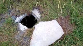 Руины старинного чеченского села Хой Веденский район ЧР. Недалеко от озера Казеной Ам