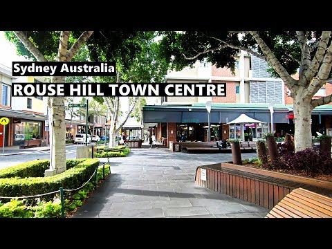 ROUSE HILL TOWN CENTRE Sydney Australia - Winter 2019 Walking Tour