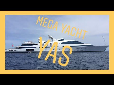 Mega Yacht YAS visit Formentera & Ibiza