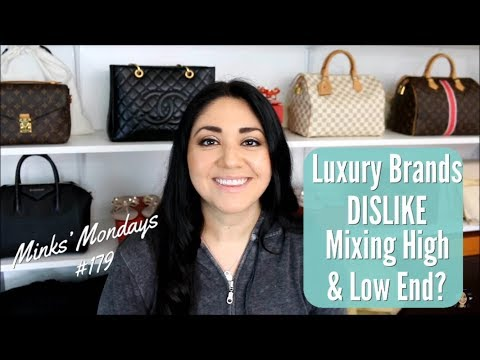Minks' Mondays #179 | Luxury Brands DISLIKE For Mixing High & Low End