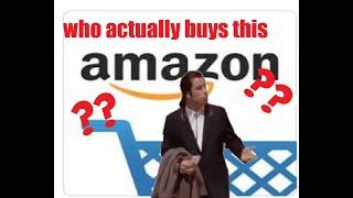 Questionable Amazon Reviews