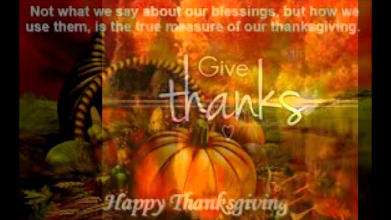 Happy Thanksgiving Day Wishes Celebrations And Quotes For You Youtube