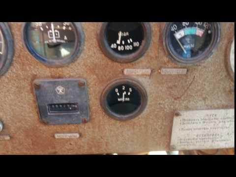 запуск компрессора ЗИФ-55 с мотором ЗИЛ-157