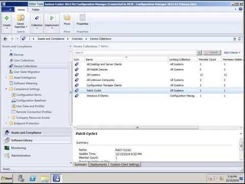 Uninstall Patch using SCCM 2012 R2 Step by Step Tutorial