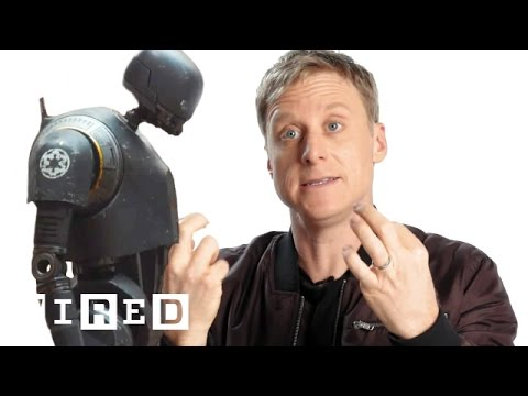 How Alan Tudyk Became Rogue One's K2SO  WIRED