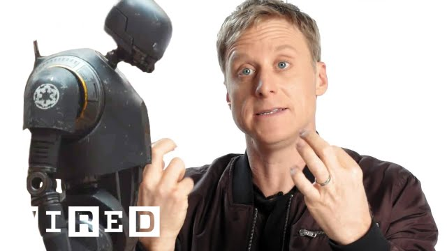 How Alan Tudyk Became Rogue One's K-2SO | WIRED - YouTube