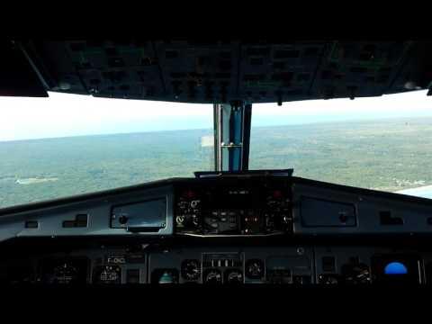 Approche Ouvéa ATR 75-500 Air Calédonie