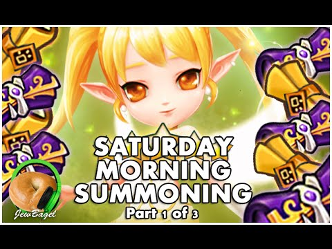 SUMMONERS WAR : Saturday Morning Summons - 300+ Mystical & Legendary Scrolls - (12/12 part 1)