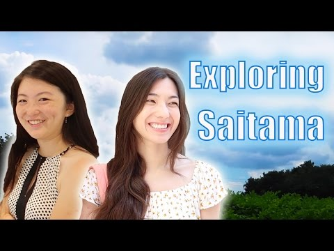 Exploring Saitama with Shizuka Anderson and MillieFreckles