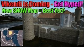 VIKENDI (REAL SNOW MAP) is Coming!! Will CASTLE be the New BOOTCAMP? (Not Official Footage)