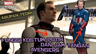 Ini Dia Fungsi Dari Seragam Putih Avengers Dan Jam Yang Dipakai Mereka Di Film Avengers End Game
