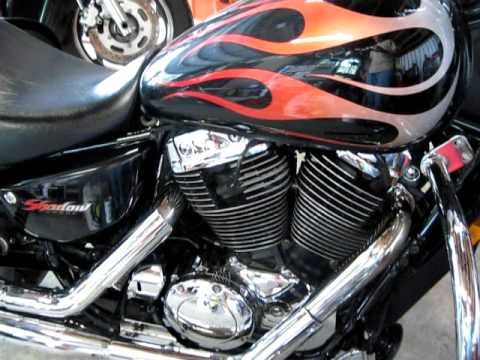 2005 Honda Shadow Sabre Vt1100c2 Youtube