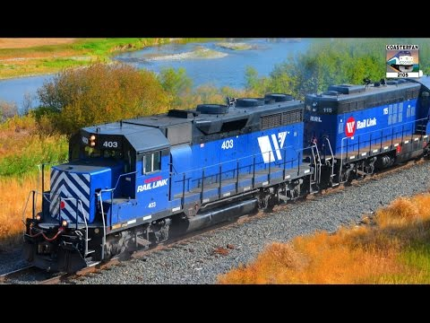 Montana Rail Link Freight Trains!