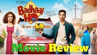 'Badhaai Ho' Movie Review | Ayushmann Khurrana, Sanya Malhotra | Director Amit Sharma | 18th Oct