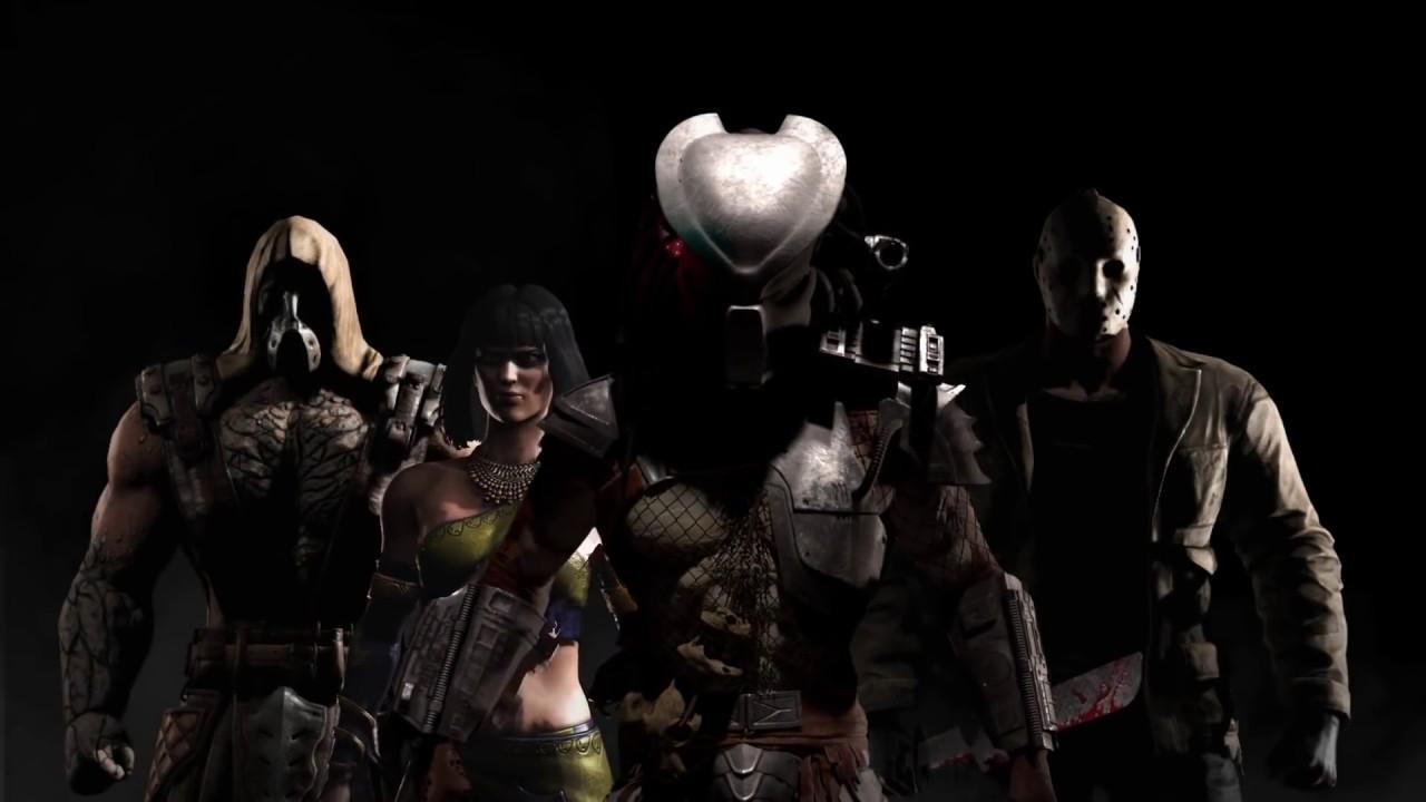Mortal Kombat X Jason, Predator, Tremor and Tanya   Kombat Pack ...