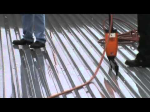 Mechanical Attachment Of Steel Deck Youtube