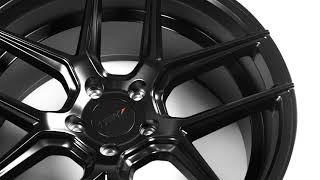 TSW Alloy Wheels - Tabac in Semi Gloss Black