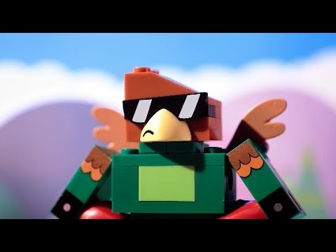 Boppin' and Bashin' with Hawkodile - LEGO Unikitty - Character Videos