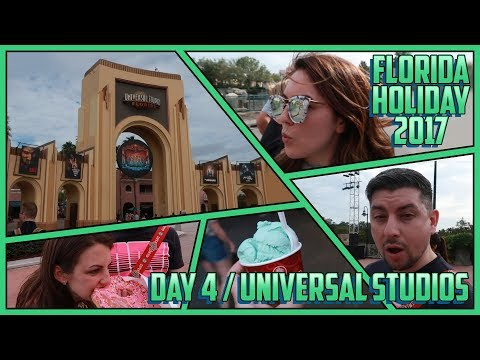 First Theme Park Day! Universal Studios VLOG | FLORIDA 2017