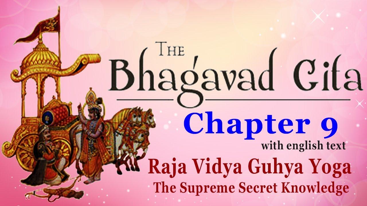 Download PDF Bhagavad Gita: Chapter 9