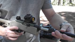 ruger vs agp arms 10 22 take down part 1