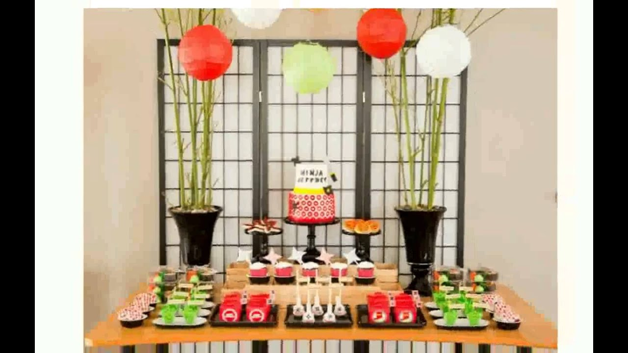 Birthday Party Decoration Ideas At Home For Husband