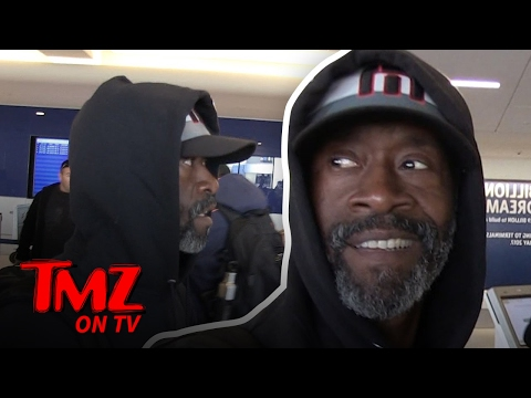 Don Cheadle: George Clooney Can't Watch My Kids…But I'll Watch His | TMZ TV