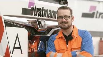 Berufskraftfahrer bei Stratmann