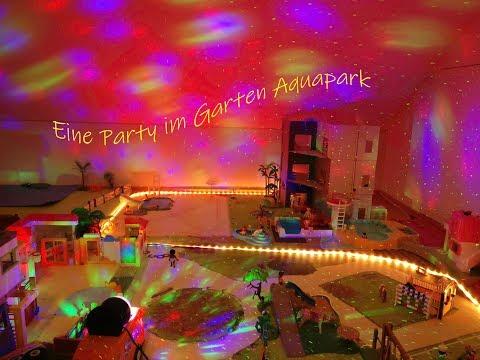Eine Party im Playmobil Garten-Aquapark