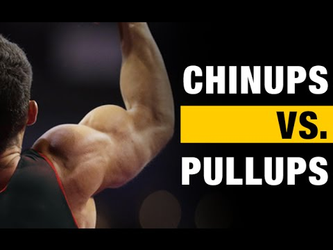 Pullups vs Chinups The BIG Differences!! - YouTube