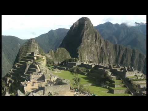 """Machu Picchu eres la ciudad"""