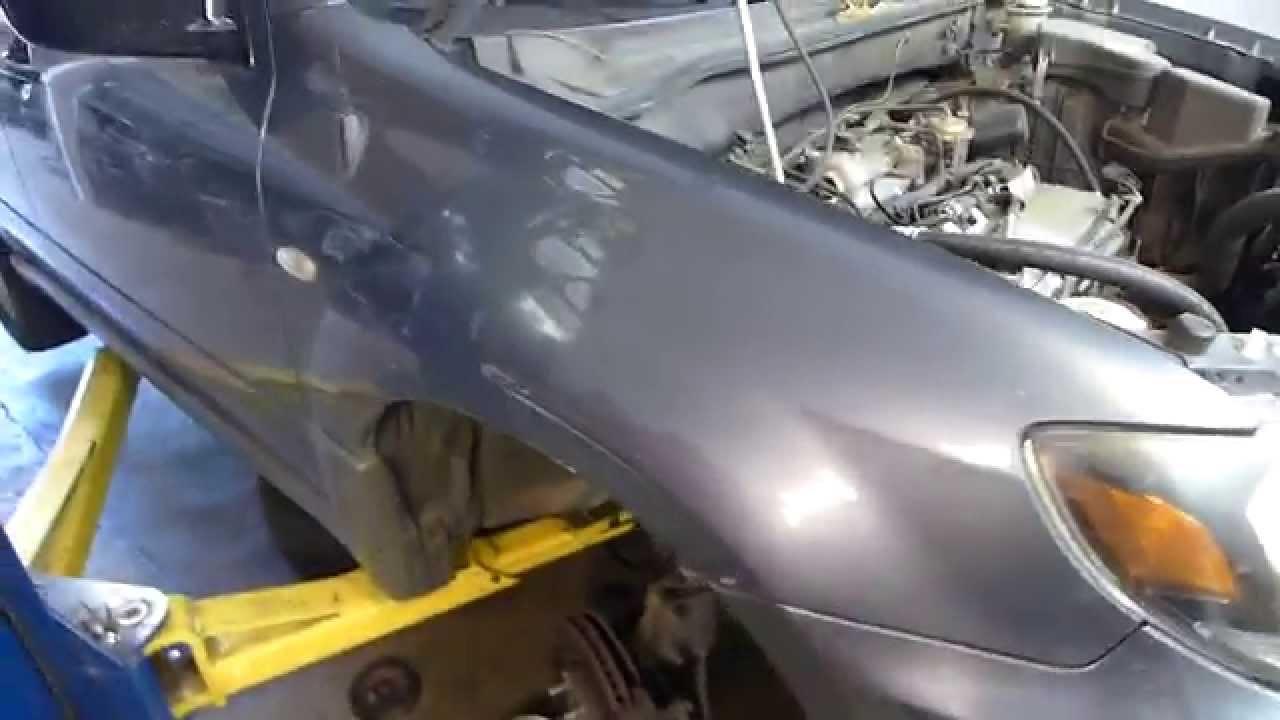 hight resolution of repairing 2003 mitsubushi outlander timing belt snap disaster