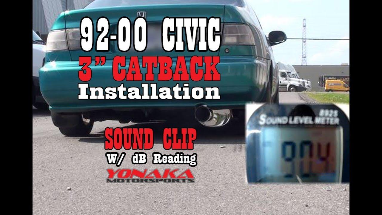 Yonaka Motorsports 92-00 Civic w/ 3